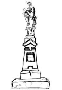Svatý Jan Nepomucký na mostku